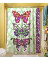 Zoological Shower Curtain Spring Into Savings On Butterfly Shower Curtain Multi Colored