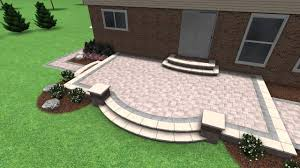 Paver Designs For Patios by Paver Stone Patio Design Rochester Hill Mi Youtube