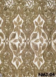 net jari allover embroidery fabrics khushali fashions