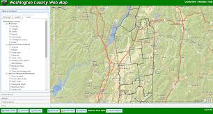 Washington State County Map by Gis Web Map Washington County Ny Official Website