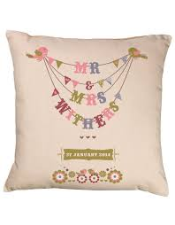 wedding gift shop wedding bunting cushion gift shop personalised gift shop