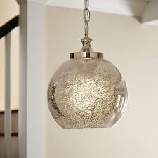 Mercury Glass Island Light 15 Collection Of Mercury Glass Pendant Lighting Intended For