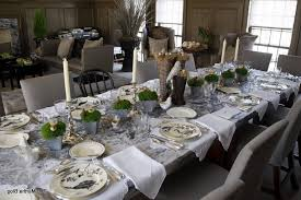 Table Decor Inspiring Table Decoration Ideas For Dinner Party 87 With
