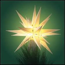 moravian tree topper moravian light tree topper carolina christmas