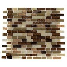 Comfort Colors Brick Splashback Tile Southern Comfort Brick Pattern 12 In X 12 In X 8