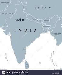 Political Map Of South Asia by India Political Map With Capital New Delhi National Borders And