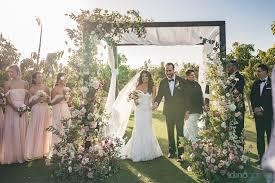 wedding altar flowers extravagant floral arrangement on wedding altar by pina hernandez