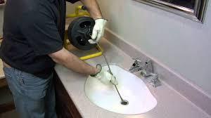 slow draining bathroom sink not clogged