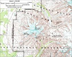 Alaska Topo Maps by Skiing The Pacific Ring Of Fire And Beyond Mount Drum