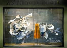 anthropologie earth day window displays highlight the power of wind