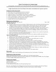 Job Resume Communication Skills by Free Template Excel Job Resumes Word Event Planning Templates