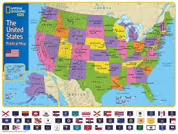 Baton Rouge Zip Code Map Amazon Com New York Puzzle Company National Geographic The Usa