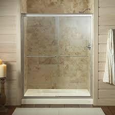 Bypass Shower Door Kohler K 702206 L Mx Fluence Frameless Bypass Shower Door Matte