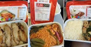airasia review taste testing thai airasia s many meals in flight runway