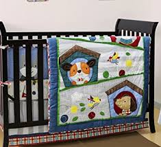Puppy Crib Bedding Sets Puppy Pals 4 Baby Crib Bedding Set By Baby