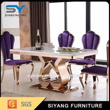 steel dining table set china stainless steel furniture dining table set china stainless