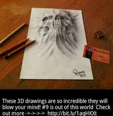 gallery best 3d sketches in the world drawings art gallery
