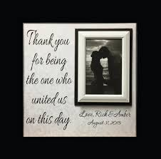 personalized wedding photo frame wedding officiant gift custom wedding frame thank you gift