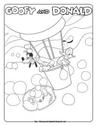 mickey mouse clubhouse coloring pages free