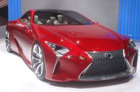 voiture de luxe lexus lf lc prototype japon salon de l automobile geneve 2012