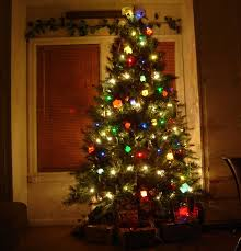 christmas tree decorations ideas and arrangement founterior view