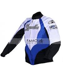 Buy Online Women Yamaha Luv Black Blue Red Motorcycle Leather
