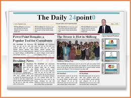 newsletter template powerpoint 7 powerpoint newsletter templates