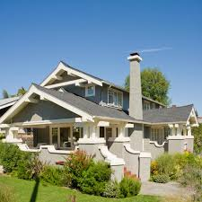 Prairie Home Style Get The Look Arts And Crafts Style Architecture Traditional Home