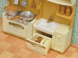 furniture kitchen stove sink set ka 420 sylvanian families japan