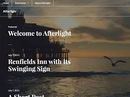 afterlight theme u2014 wordpress com