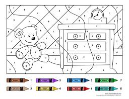 color by number printables color by number printables in kids
