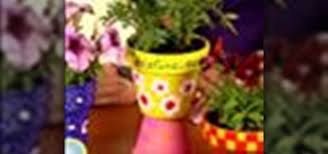 personalized flower pot how to make personalized flower pots kids activities wonderhowto