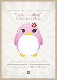penguin baby shower baby shower invitations excellent penguin baby shower invitations