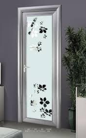 Decorative Glass Doors Interior Interior Aluminum Decorative Glass Toilet Door Buy Decorative