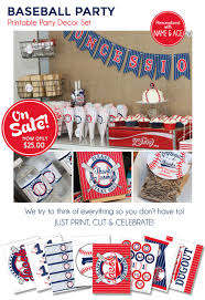 baseball party supplies take me out to the ballgame baseball theme party planning ideas