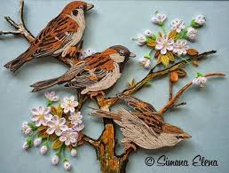 paper quilling birds tutorial quilling birds paper pinterest quilling patterns and crafts