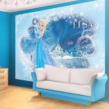 kinder fototapete fototapeten tapete tapeten poster disney disney frozen elsa light blue wallpaper mural continue to the product at the image link