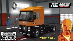 renault trucks magnum renault ae magnum 1 28 x truck mod ets2 mod