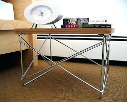 eames wire base low table wire side table a photo on wire side table replica charles eames