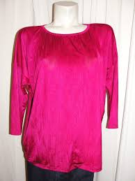 chico u0027s top womens cranberry polyester spandex 3 4 dolman sleeve
