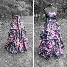 pink camo wedding gowns you had me at camo muddy camo wedding dress