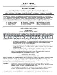 accountant resume template senior staff accountant resume sle sles primary representation