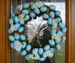 diy easter wreath soccer mom style