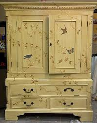 hand painted bedroom furniture hand painted armoire paint furniture advice and furniture ideas