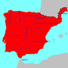 Toledo Spain Map by Visigothic Hispania And Its Regional Divisions In 700 Prior To
