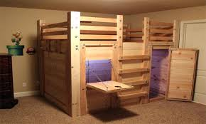 2x4 Bunk Beds Loft Bed Plans Free Medpharmjobs Info