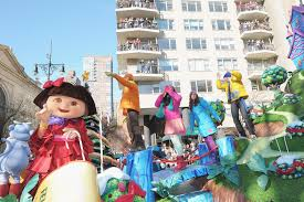 in nickelodeon at the 2011 macy s thanksgiving day parade