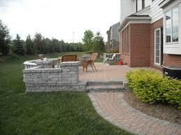 Brick Paver Patios Landscaping Michigan Brick Pavers And Brick Patios Installed In