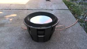 attempt to blow up a rockford fosgate t1 with 1500w rms youtube