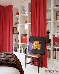 How To Divide A Room With Curtains by 25 Creative Ideas For Using Bookshelves As Room Dividers